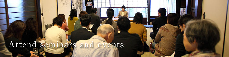 Attend seminars and events